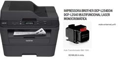 IMPRESSORA BROTHER DCP-L2540DW MULTIFICIONAL